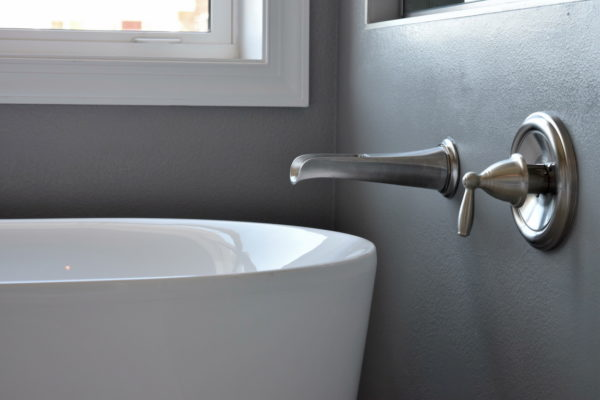 Bathroom Detail in Custom Home